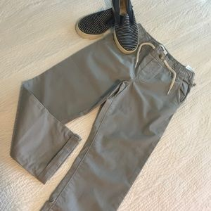 NWT Grey Pull-on Relaxed Pants/Chinos Toddler Boy